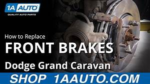 How To Replace Front Brakes 08