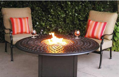 patio furniture seating set cast aluminum 52 propane