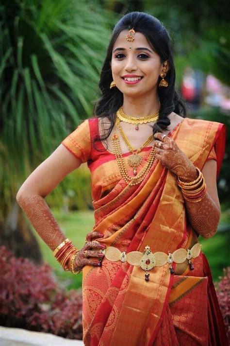 indian wedding bridal makeup  hair style