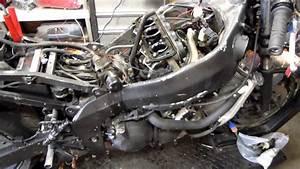 Starting Wrecked 1998 Kawasaki Zx6r  249