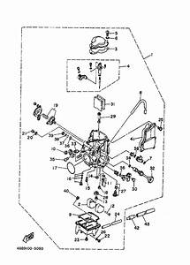 Yamaha Warrior 350 Carburetor Diagram