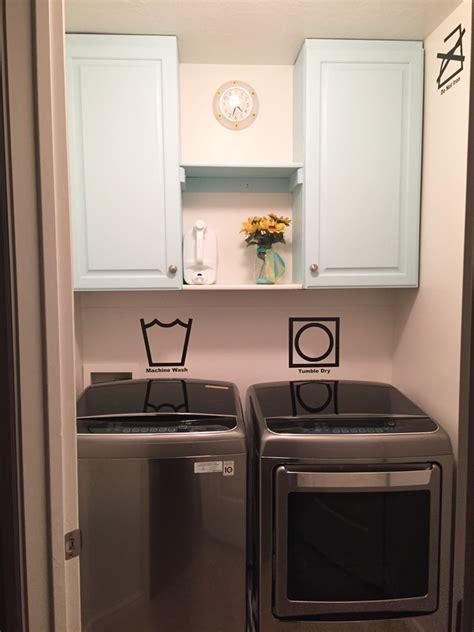 Tiny Laundry Room Makeover  Simplistically Sassy
