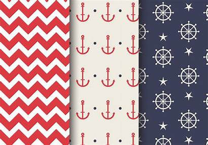 Nautical Pattern Sea Vector Clipart Patterns Background