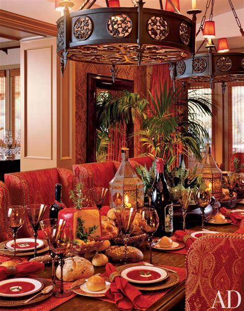 Exotic Dining Room By David Dalton  Ad Designfile Home
