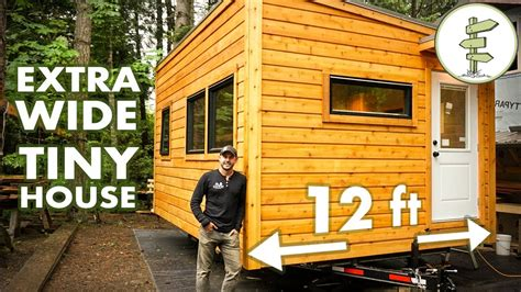 Special 12 Ft Wide Tiny House Feels Like A Real Home! Full