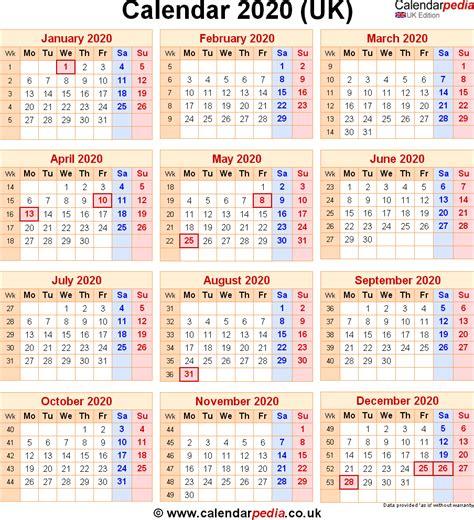 calendar  uk  bank holidays excelpdfword templates