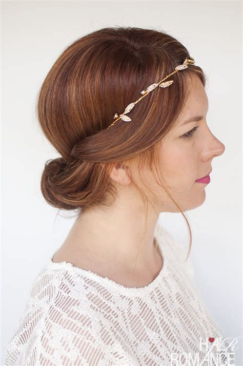 Wedding hair inspiration   one headband, three ways   Hair