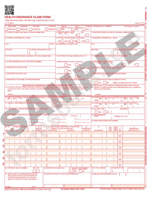 Download health images and photos. Health Insurance Claim Form printable pdf download