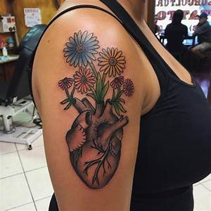 90 Sensitive Anatomical Heart Tattoo Designs