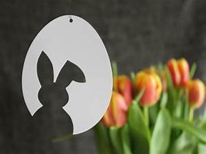 Osterdeko Basteln Aus Papier : 3 vorlagen f r schnelle schlichte osterdeko aus papier osterhase tulpe frohe ostern ~ Whattoseeinmadrid.com Haus und Dekorationen