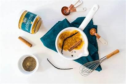 Milk Golden Recipe Recipes Ingredients Natural Taste