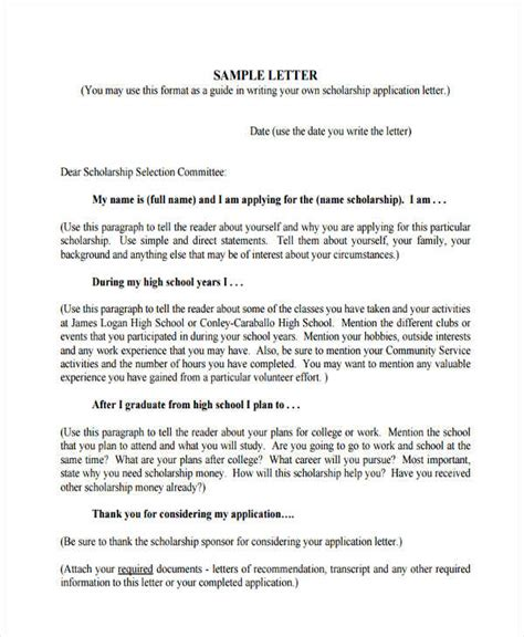 write popular application letter