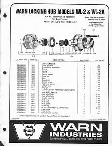 Warn Hub Brass Selector Switch