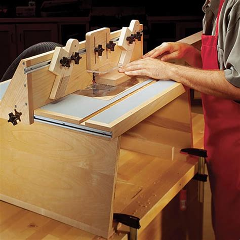 benchtop router table woodworking plan  wood magazine