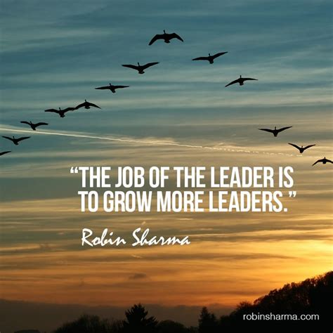 job   leader   grow  leaders team