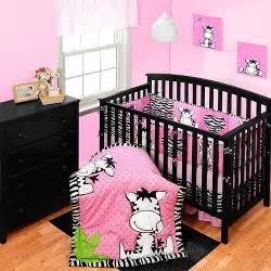baby boom i luv zebra crib collection set value bundle