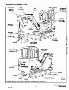 Bobcat 331 331e 334 Mini Excavator Service Repair Workshop Manual 234311001