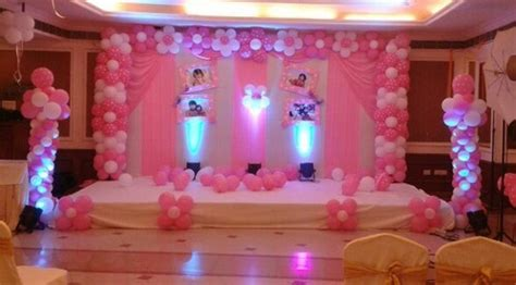 birthday balloon decoration area size  feet rs