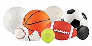 The gallery for --> Sports Ball Collage Wallpaper