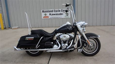 pre owned 2012 harley road king with ape hanger handlebars
