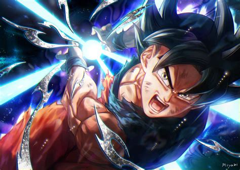 Goku Ultra Instinct Mastered Wallpapers