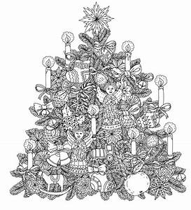 Christmas Coloring Pages for Adults 2018- Dr. Odd