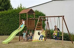 Aire De Jeux Soulet : aire de jeux en bois pour enfants mod le commulus soulet ~ Melissatoandfro.com Idées de Décoration