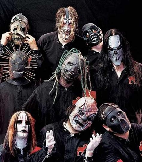 All My Album Artwork Is Gone by Slipknot Masks Throughout The Years Photo Gallery