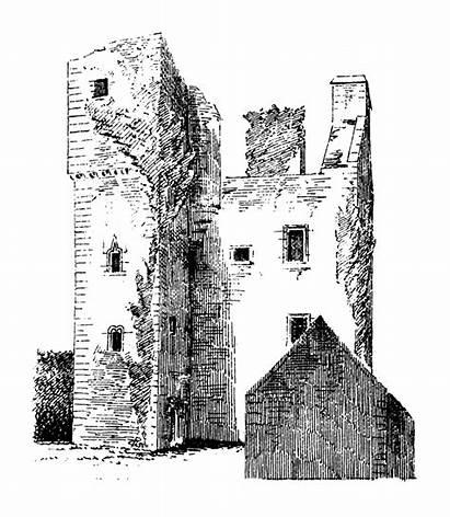 Barholm Castle Restoration Macgibbon Ross Before Scotland