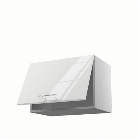 meuble hotte cuisine meuble de cuisine haut sur hotte blanc 1 porte h 42 x