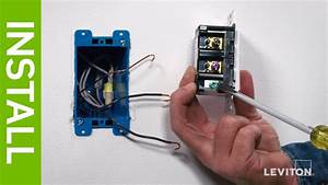 Leviton Presents  How To Install The Leviton Dds15 Decora U00ae Digital Switch With Bluetooth