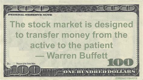 warren buffett market rewards patience money quotes