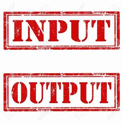 Input Clipart Output Data Clipground Outputs Tactics