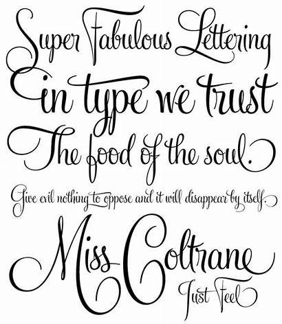 Fonts Tattoo Stylish Font Calligraphy Styles Letters