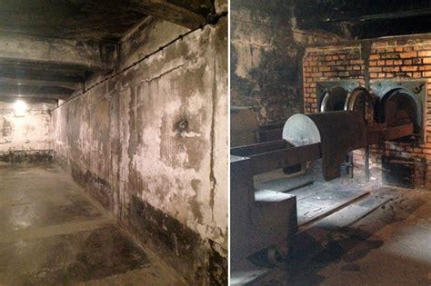 auschwitz chambre a gaz 70 ans apr 232 s auschwitz porte encore les traces de l