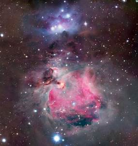 APOD: 2002 December 20 - Colorful Clouds of Orion