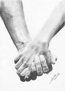 Pencil Drawing Of Couple Holding Hands   www.imgkid.com ...