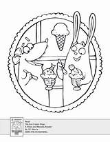 Ice Cream Coloring Activity Printables Drawing Worksheets Activities Pdf Scholastic Parents Age Paintingvalley sketch template