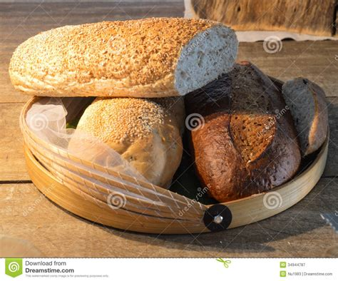 chignon cuisine bread in basket royalty free stock photography image