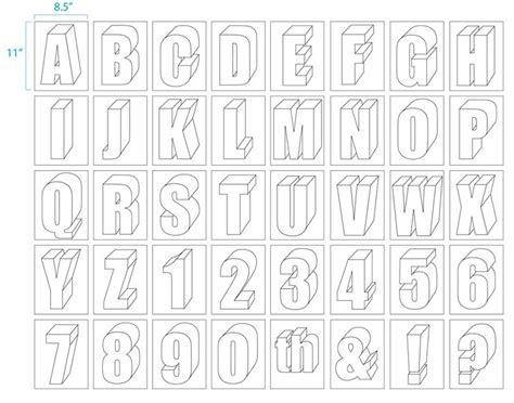 3d block letters large size alphabet letter printable alphabet 20095 | ea35f5f1c1724380d6d173a78386de06