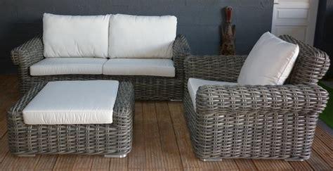 canapé en résine tressée canape resine tressee canapés et fauteuils