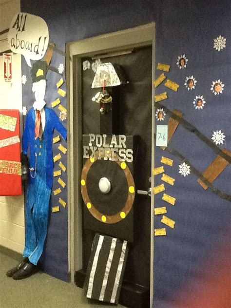 Polar Express Door Decorating Ideas by 17 Best Images About Door Decorations On Polar