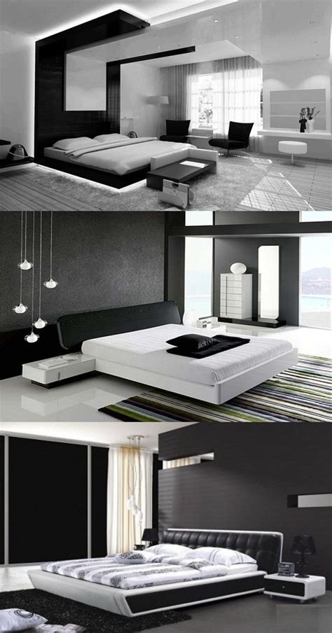 Black And Bedroom Design Ideas by Modern Black And White Bedroom Design Ideas