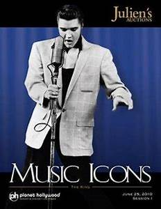 Julien's Music Icons auction at Planet Hollywood | Classic ...