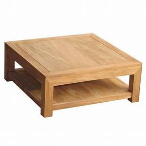 Table Salon Carrée : table salon carre table basse table pliante et table de cuisine ~ Teatrodelosmanantiales.com Idées de Décoration