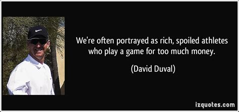 We're Often Portrayed As Rich, Spoiled Athletes Who Play A