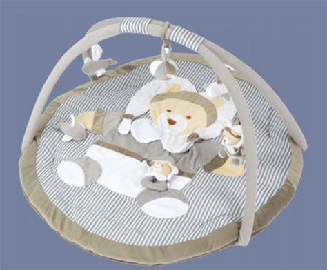 les bebes du bonheur tapis d 233 veil ours taupe doudou et