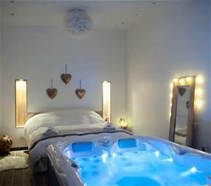 Image De Chambre : chambres avec jacuzzi privatif pour une escapade en amoureux ~ Farleysfitness.com Idées de Décoration