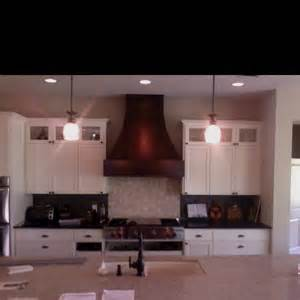 Curved Wood Vent Hoods