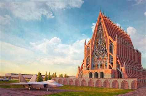 americas famous buildings reimagined  gothic structures